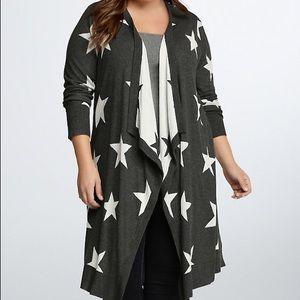 Torrid Star sweater sz 0